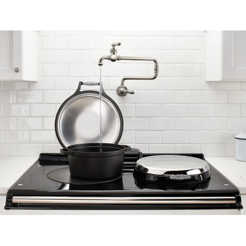 """Oil-rubbed Bronze Single-hole Wall-mount Pot Filler Kitchen Sink Faucet With 22"""" Extended Spout"""