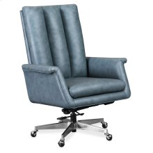 Home Office Tycoon Executive Swivel Tilt Chair w/ Metal Base