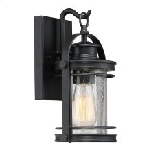 Booker Outdoor Lantern in Mystic Black