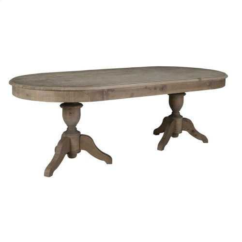 "Hartland Oval Dining Table 88"""