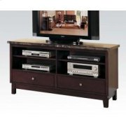 TV Console W/black Marble Top Product Image