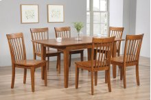 Solid Hardwood Butterfly Leaf Dining Table