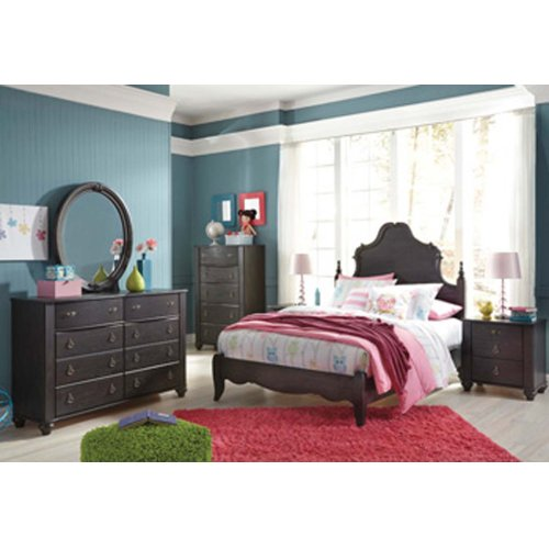 Corilyn - Dark Brown 2 Piece Bedroom Set