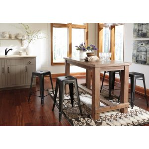 Ashley Furniture Pinnadel - Grayish Brown 5 Piece Dining Room Set