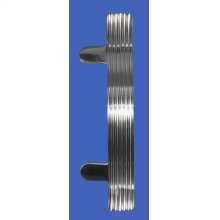 While supplies last! Please choose carefully, as all sales on these items are final. Please read Outlet Terms & Conditions and Privacy Policy . Modern Offset Curved Ribbed Door Pull
