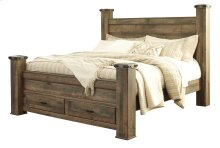Trinell - Brown 5 Piece Bed Set (King)