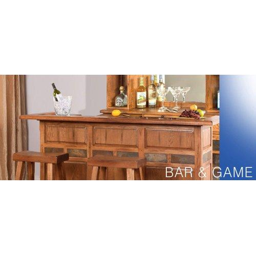 """Sedona 78"""" Bar w/ Rail"""