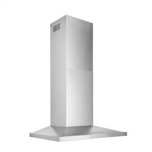 BroanBroan® 30-Inch Convertible Wall-Mount Low Profile Pyramidal Chimney Range Hood, 450 MAX CFM, Stainless Steel