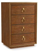 Bedroom Roman Four-Drawer Nightstand Product Image