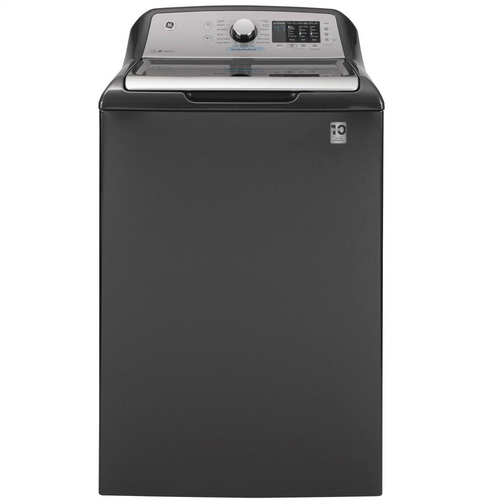 GE4.8 Cu. Ft. Capacity Washer With Sanitize W/oxi And Flexdispense™