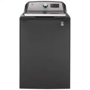 GE  ®4.6 cu. ft. Capacity Washer with Sanitize w/Oxi and FlexDispense™