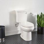 American StandardH2Option ADA Dual Flush Elongated Toilet  Right Hand Trip Lever  American Standard - White