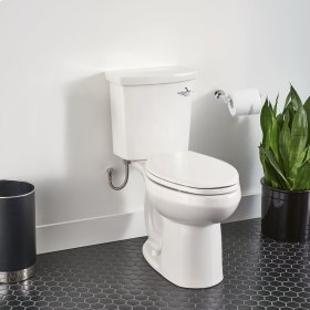 H2Option ADA Dual Flush Elongated Toilet  Right Hand Trip Lever  American Standard - White