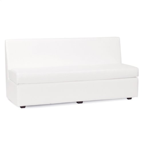 Slipper Sofa Avanti White
