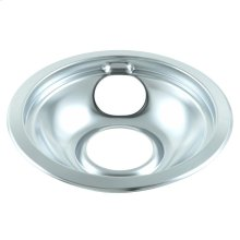 Round Chrome Electric Range Burner Drip Bowl