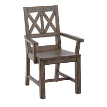 Foundry Wood Arm Chair