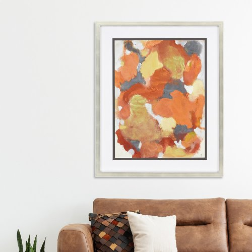Petal Mosaic Orange I