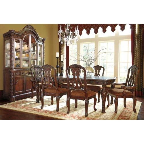 North Shore - Dark Brown 2 Piece Dining Room Set