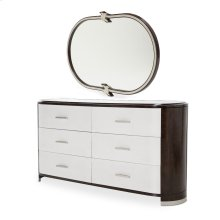 Dresser W/ Wall Mirror (2 Pc)