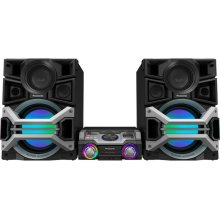 Mini Jukebox DJ Audio System with Room Filling Sound: SC-MAX670