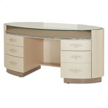 Upholstered Desk
