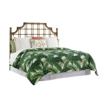 St. Kitts Rattan Headboard Queen Headboard