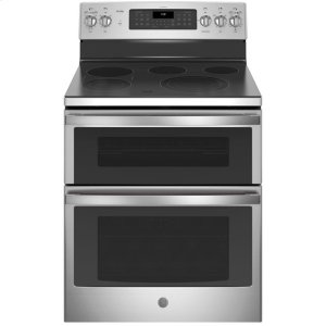 "GE ProfileGE Profile™ 30"" Free-Standing Double Oven Convection Range"