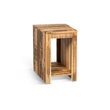 Solid Wood Chair Side Table