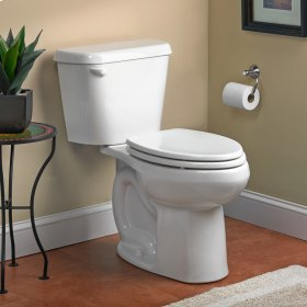 Colony Tall Elongated Toilet  1.28 GPF  10-inch Rough-in  American Standard - White