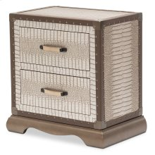 Upholstered Nightstand Amazon Tan Gator