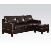 Esp. Pu Rev. Chaise Sectional Product Image
