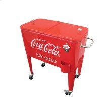 "Coca-Cola® Retro ""ICE COLD"" 60 qt. Cooler"