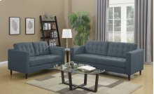 Liam Denim Loveseat
