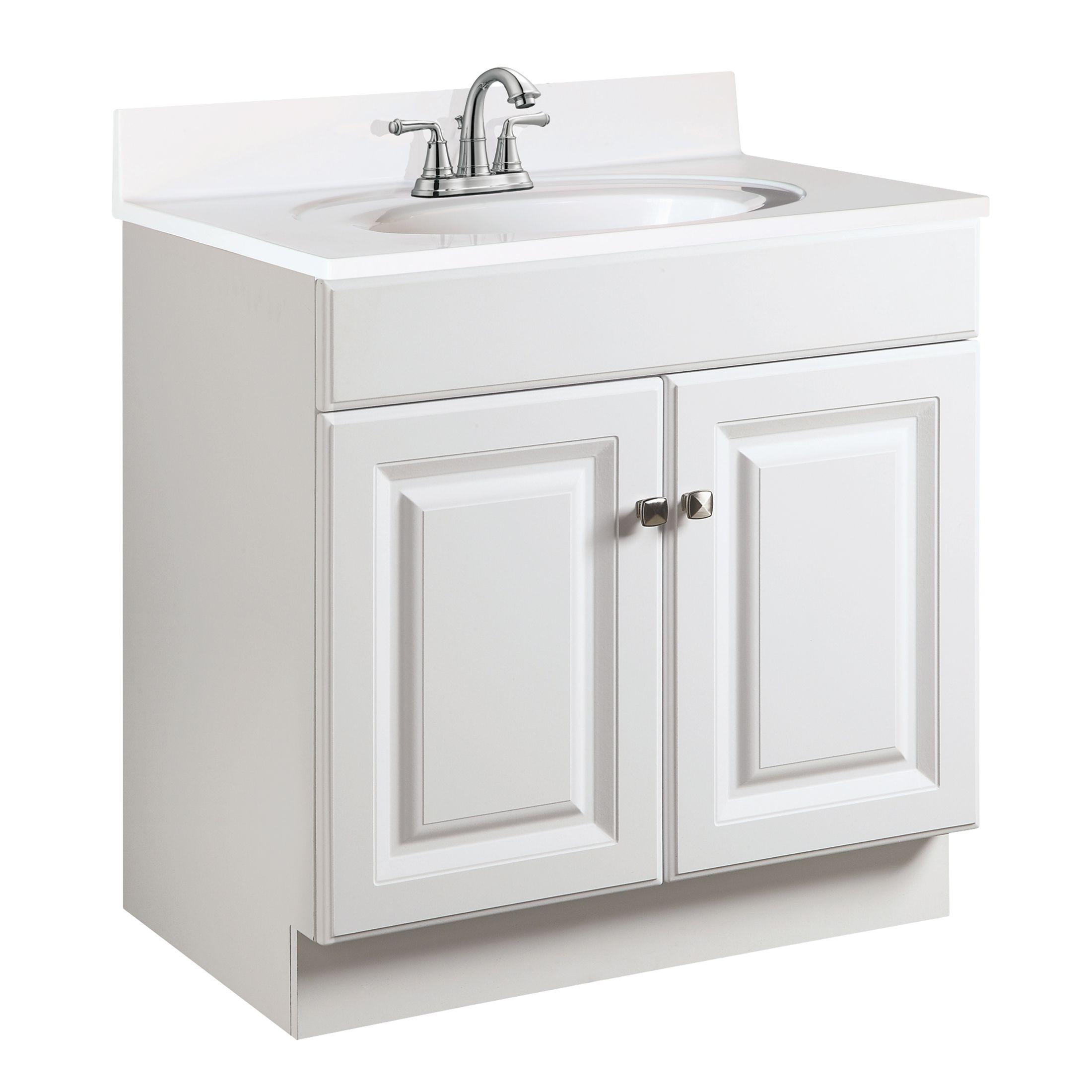 """Wyndham 2-Door Vanity 30"""", White #531749"""