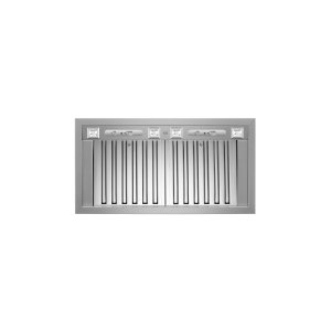 BERTAZZONI36 Insert Hood, 2 motors 1000 CFM Stainless Steel