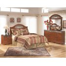 Fairbrooks Estate - Reddish Brown 5 Piece Bedroom Set Product Image