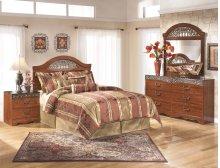 Fairbrooks Estate - Reddish Brown 5 Piece Bedroom Set