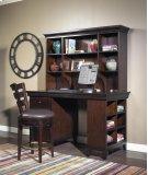 Artisan Dark Office Storage Cabinet Product Image