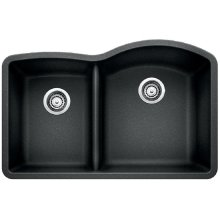 Blanco Diamond 1-3/4 Bowl Reverse With Low-divide - Anthracite