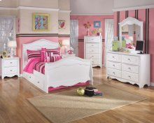 Exquisite - White 4 Piece Bed Set (Full)