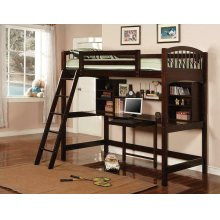 Perris Twin Workstation Loft