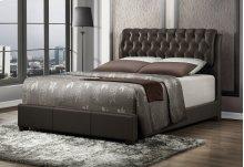 Barnes Brown Queen Bed