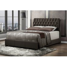Barnes Brown Queen Bed