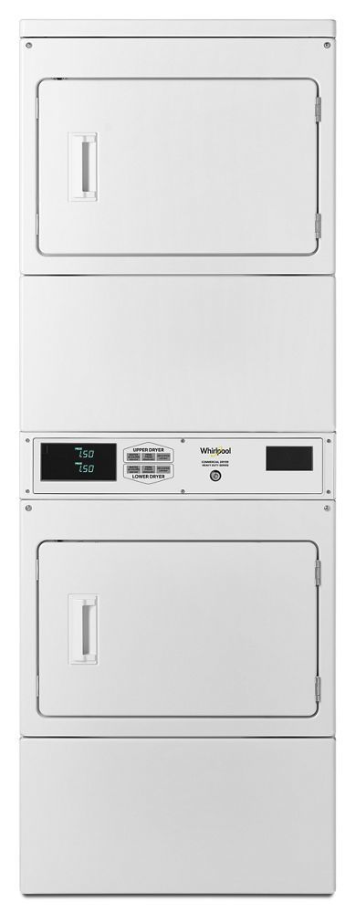 WhirlpoolCommercial Electric Stack Dryer, Non-Coin