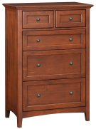 GAC 5-Drawer McKenzie Tall Chest Product Image