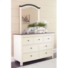 Woodanville - White/Brown 2 Piece Bedroom Set