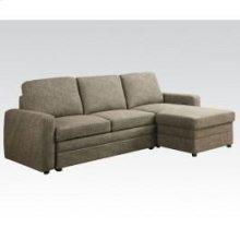 Derwyn L-brown Sectional Sofa