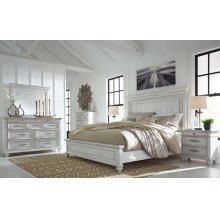 Kanwyn - Whitewash 5 Piece Bedroom Set