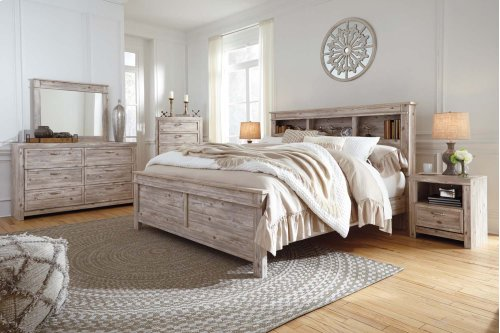 Willabry - Weathered Beige 2 Piece Bedroom Set