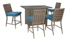 Partanna - Blue/Beige 2 Piece Patio Set